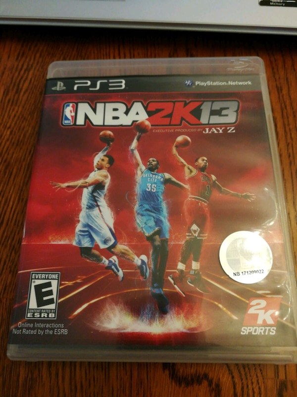 9fb540f219f1 Used NBA 2K13 PS3 Game for sale in Castro Valley - letgo
