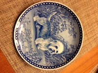 Dandie dinmont dog  plate  collectable