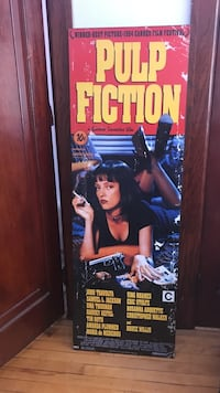 Pulp Fiction Movie Poster Board Montréal, H2X 2L5