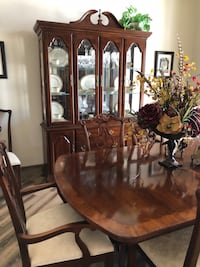 brown wooden dining table set Odessa, 79765