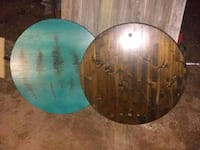 Wood table tops