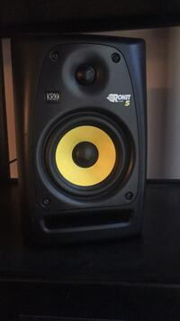 black and yellow subwoofer speaker Albuquerque, 87106