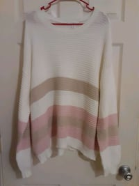 NWOT Brand New Women's Knit Sweater sz XXL