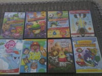 8 kids dvds all in good shape $6 Tipton, 46072