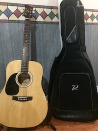 Left handed Jay acoustic guitar with case and stand  Ottawa, K1R 6R9