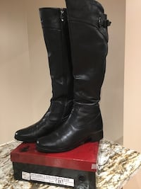 WINTER REAL LEATHER KNEE HIGH BOOTS Aurora, L4G 6A5
