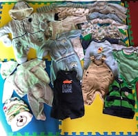 Baby boy clothes 0-3 m Calgary, T3C 2C1