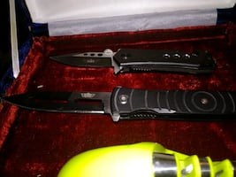 AUTHENTIC UZI MADE ASSISTED OPENING KNIVES
