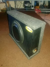 "MTX 8"" subwoofer I'm a professionally made box"