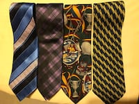 Like New Silk Ties - $8 each or 4 for $30 Vaughan, L4J 0A5