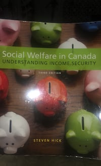 Social welfare in Canada textbook  Mississauga, L5R 3S8
