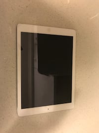 white iPad with black case North Vancouver, V7N 2L5