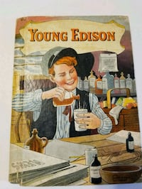 """1933 """"Young Edison """" By W. E. Wise.   Cranston, 02920"""