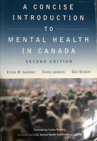 Mental Health in Canada (2nd Edition) Textbook - Langara College VANCOUVER