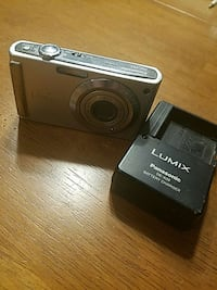 grey lumix point and shoot camera with battery charger Jermyn, 18433