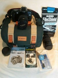 Canon EOS Rebel G camera with case and stand Evesham Township, 08053