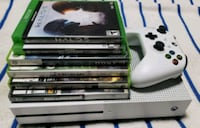 white Xbox One console with controller and game Alexandria, 22307