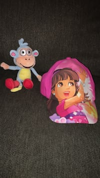 Girls Dora hat & stuffed animal  Omaha, 68134
