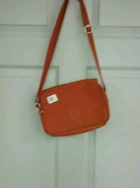 red and black leather crossbody bag Edmonton, T5L 0S3