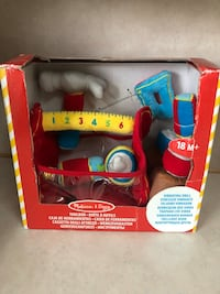 Melissa and Doug plush tool kit