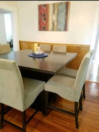 Black counter height dining table  East Providence, 02914