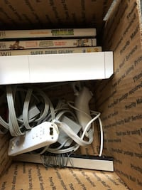 white Nintendo Wii with remote and nunchuck controllers Bear Creek, 18702