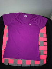 UNDER ARMOUR purple workout top S Whitby, L1N 9B4