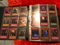 651 Yugioh cards (many shinies, only took a pic of the first page I flipped to) Red Deer, T4R 3M4