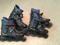 Rollerblades! Sizes 8 & 11. Econdition with removable inserts 25 each pair Olney, 20832