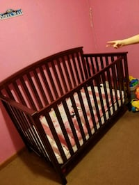 baby's brown wooden crib Little River, 29566