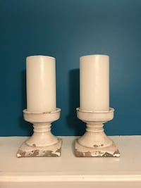 Decorative Candle Holders with Candles