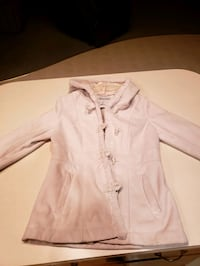 women's white fur(inside)coat Chatham, 62629