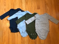 3 month Carter's Long Sleeve Onesies Toronto, M6E 4P3