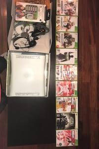 Xbox 360 + 9 Games+1 Controller+2 headsets all Great Condition Baltimore, 21224
