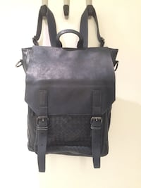 Brand New Italian leather knapsack Vancouver, V6G