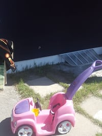 toddler's pink and purple ride on toy car Calgary, T2A