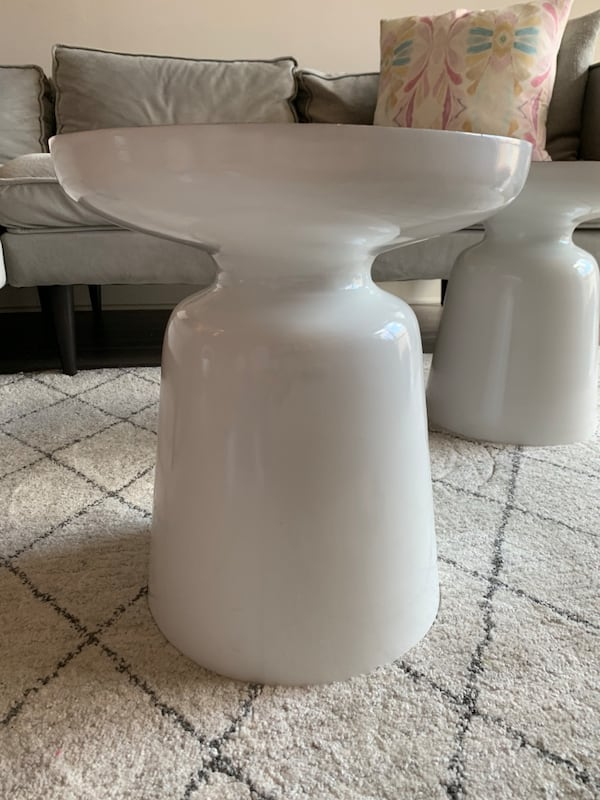 West Elm Martini Tables - set of 2 1