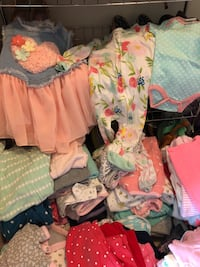 Tons of baby girl clothing! lightly worn or new! Alexandria, 22301