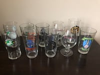 Set of 10 Brewery pint glasses Washington, 20009