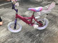 toddler's pink and purple bicycle with training wheels Turbeville, 29162