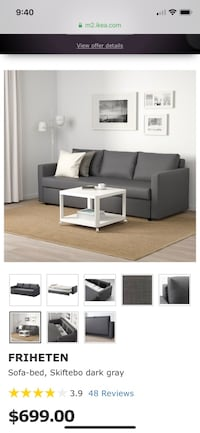Sofa Bed / Ikea Couch