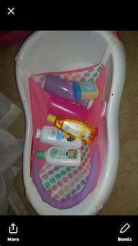 Baby's white and pink bather Ocala, 34474