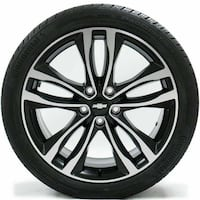 2018 CHEVY IMPALA STOCKS TIRES NEW