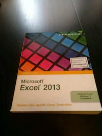 Microsoft Excel 2013 textbook Hamilton, L8M 3K1