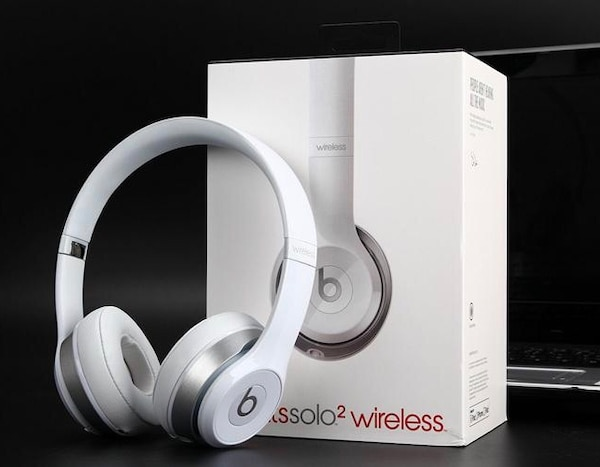 Beats solo2 wireless - weiß