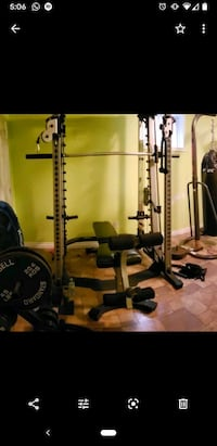 Nautilus Smith machine with cable crossover( without bench ) Mississauga, L5M 6L9