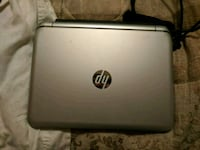 white HP laptop computer with charger Toronto, M6L 2T3