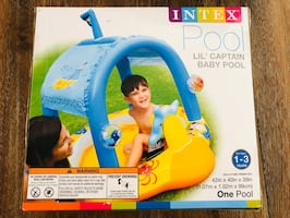 Intex Lil' Captain Baby Pool
