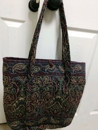 Vera Bradley Retired Pattern Medallion Iconic Tote