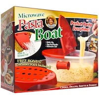Microwave Pasta Boat (As seen on TV) 517 km